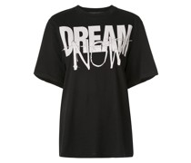 "T-Shirt mit ""Dream Now""-Print"