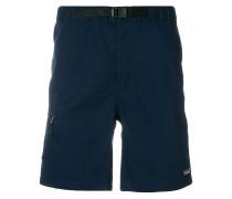 buckle waist casual shorts