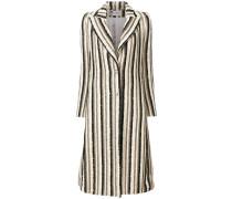 long striped coat