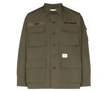 Hemd im Military-Stil