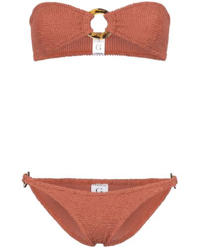 'Gloria' Seersucker-Bikini