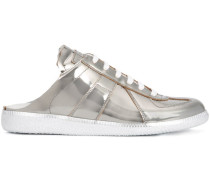 Sneakers mit Metallic-Effekt - women
