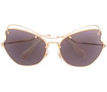 - Oversized-Sonnenbrille mit Farbverlauf - women