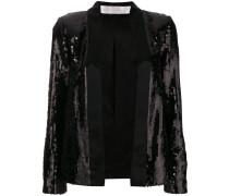 sequin embellished jacket