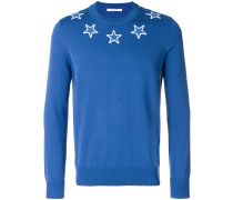 Pullover mit Stern-Patches