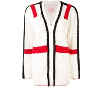 BAPY BY *A BATHING APE® block colour knitted cardigan