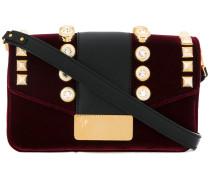 crystal embellished handbag