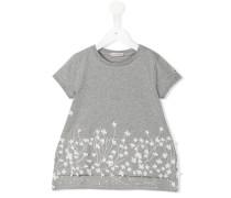 Florales T-Shirt - kids - Baumwolle/Elastan