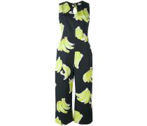 Jumpsuit mit Banane-Print - women - Baumwolle