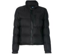 zip up padded jacket