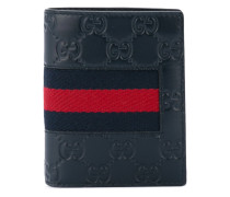 Signature Web bifold wallet - men