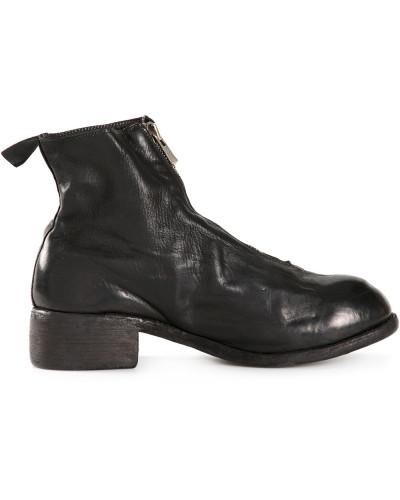 GUIDI Herren Stiefel mit zentriertem Reißverschluss