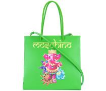 - Handtasche mit Elefanten-Print - women