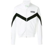 bi-colour retro sweatshirt