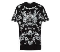 - T-Shirt mit Tattoo-Print - men - Baumwolle - S