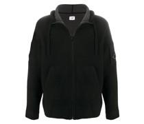 Sweatshirtjacke mit Reißverschluss