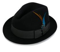 Hut mit breitem Band