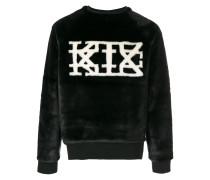 Sweatshirt aus Kunstpelz