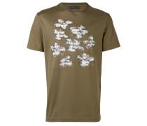 - T-Shirt mit floralem Print - men - Baumwolle