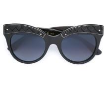 Cat-Eye-Sonnenbrille - women - Acetat/rubber