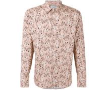 Hemd mit Blumen-Print - men - Baumwolle - XL