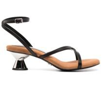 Sandalen mit Design-Absatz 65mm