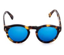 LEONARDI1048C11 Tartaruga lente azul espelhada ??? Acetate
