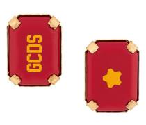 'Star Rocks' Ohrringe mit Logo
