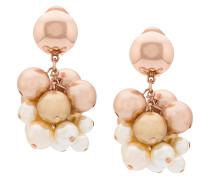 pearl vine clip-on earrings