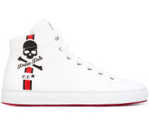 - High-Top-Sneakers aus Leder - men