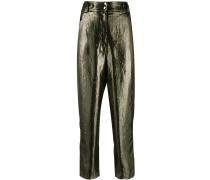 'Persis' Hose in Metallic-Optik