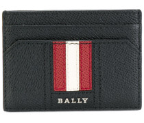 striped cardholder