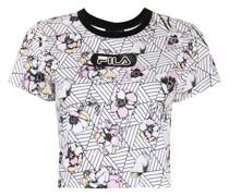 Lunar T-Shirt mit Blumen-Print