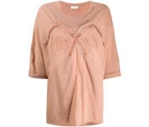 Besticktes Oversized-T-Shirt