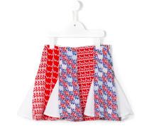 diagonal stripes skirt