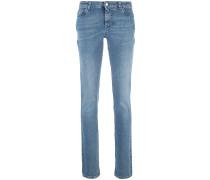 Skinny-Jeans mit Stern-Patch - women