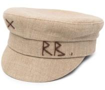 Hut mit Stickerei
