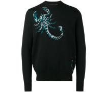 Pullover mit Skorpionmuster