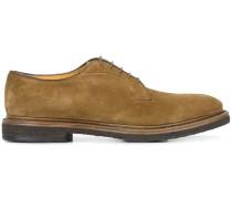 Derby-Schuhe aus Wildleder