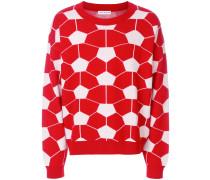 Pullover mit geometrischem Print