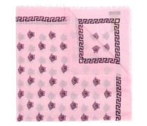 Medusa print scarf