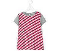 T-Shirt mit Karo-Muster - kids