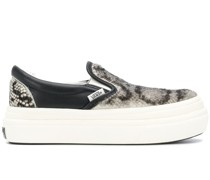 Slip-On-Sneakers mit Plateau