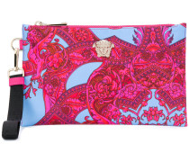 printed Medusa clutch