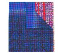 Schal mit Print - men - Seide/Wolle