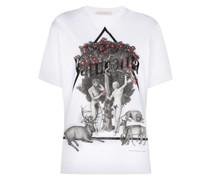 'Naturotica Adam Eve' T-Shirt mit Print