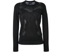Pullover mit Spitzeneinsatz - women