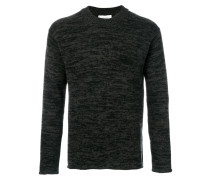 cashmere mouline effect jumper