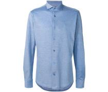 - Hemd mit schmaler Passform - men - Baumwolle