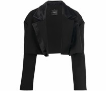 cropped tailored blazer